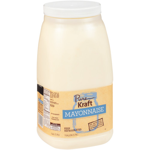 KRAFT Pure Mayonnaise, 1 gal. Jugs (Pack of 4)