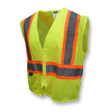 Radians SV22X Economy Mesh X-Back Type R Class 2 Safety Vest with Two-Tone Trim