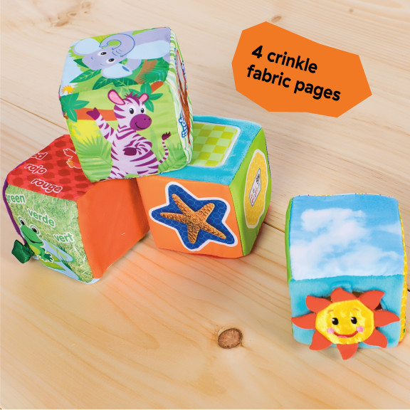 Explore & Discover Soft Blocks™ Toys