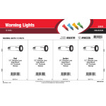 Warning Lights Assortment (12 Volts)