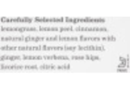 Lemon Ginger Herbal Tea Box of 28 tea bags