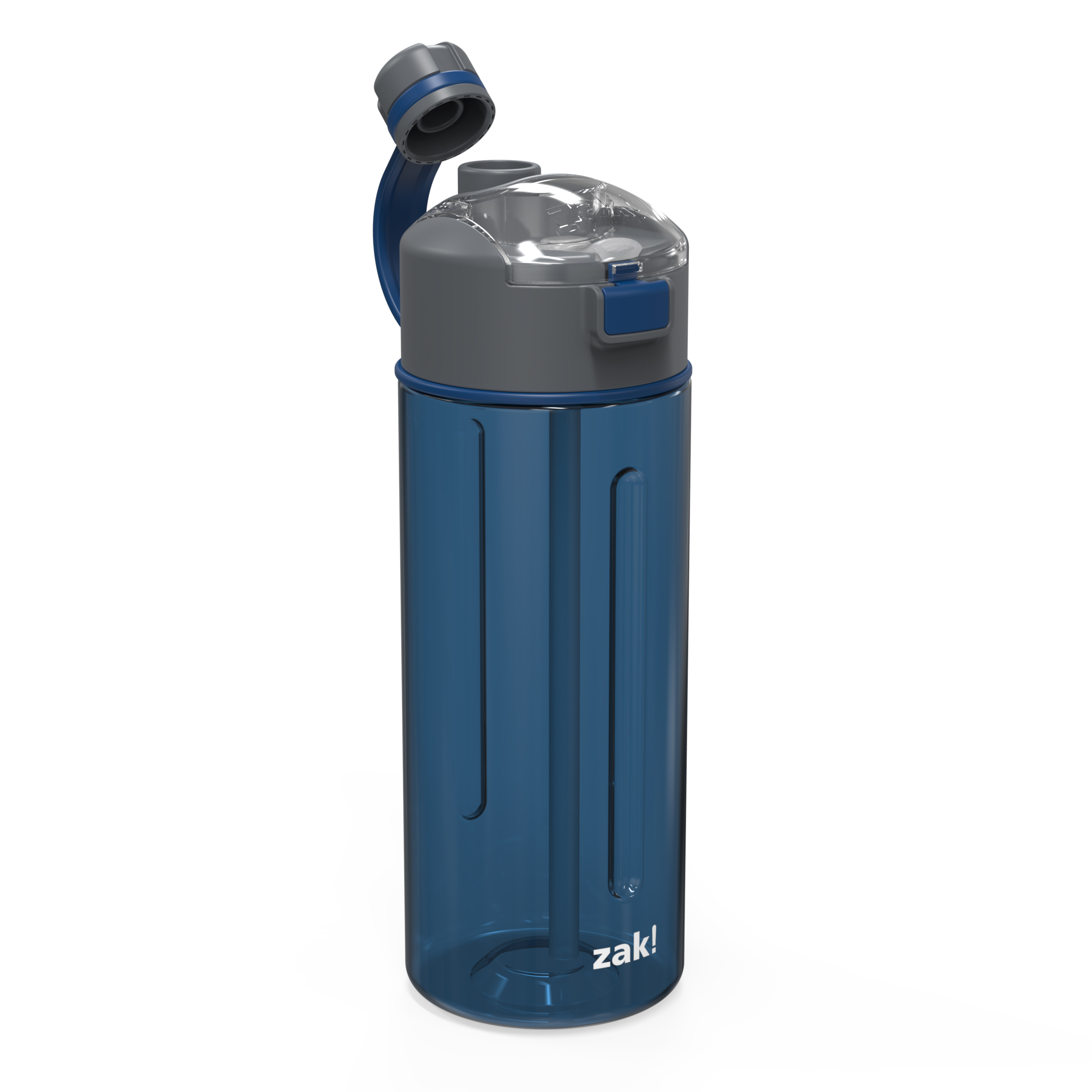 Genesis 24 ounce Water Bottle, Indigo slideshow image 4