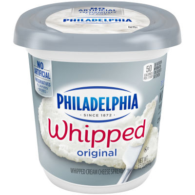 Philadelphia Original Whipped Cream Cheese Spread 12 oz Tub