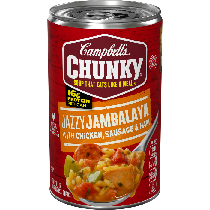 Jambalaya with Chicken, Sausage & Ham