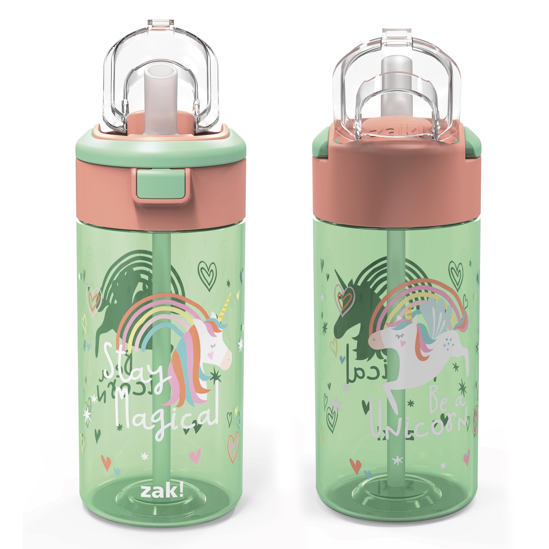 Genesis 18 ounce Water Bottles, Unicorn, 2-piece set slideshow image 2