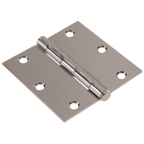 Hardware Essentials Residential Door Hinges with Removable Pin Chrome 3
