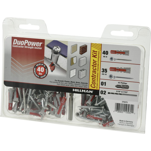 #6 & #8 DuoPower Contractor-Strength Anchor Kit