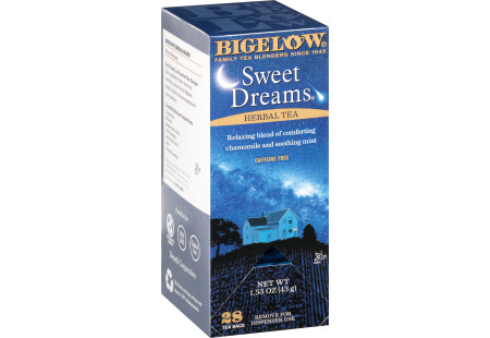 Sweet Dreams Herbal Tea - Case of 6 boxes- total of 168 tea bags