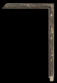Allegra Antique Silver 5/8