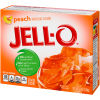Jell-O Peach Gelatin Mix 6 oz Box