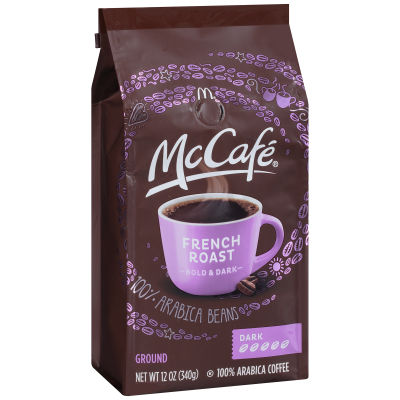 McCafe French Roast Ground Coffee 12 oz Bag