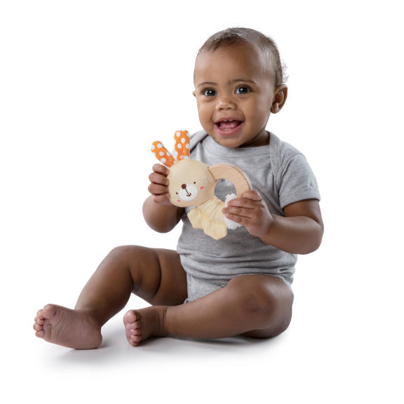 Simply Bright Starts™ Clutch & Hold Wood Toy™