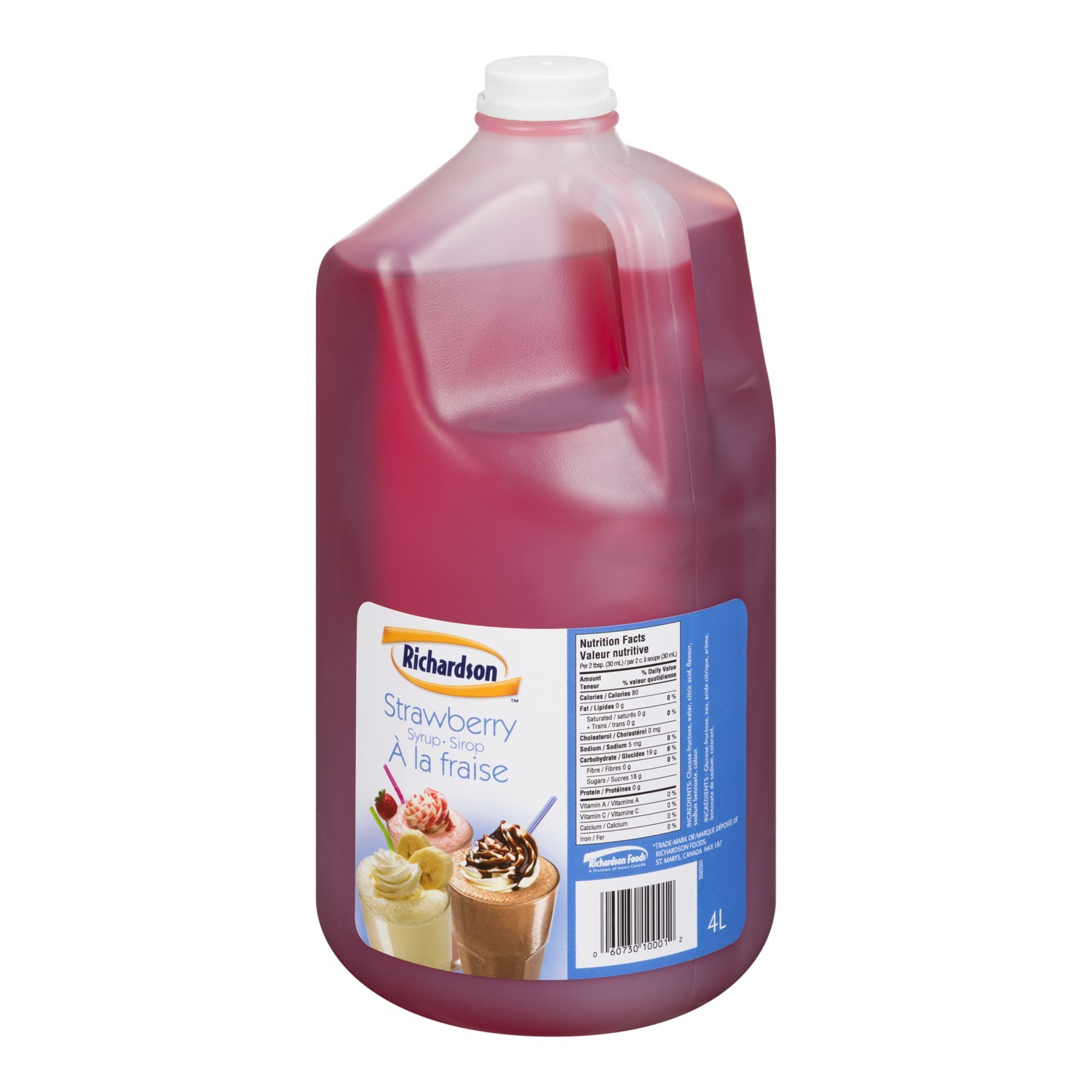 RICHARDSON Strawberry Syrup 4L 2