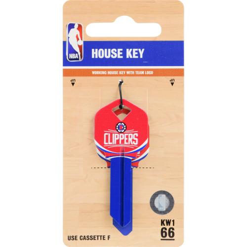 Kwikset/66 KW1 NBA LA Clippers Key Blank