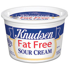 Knudsen Fat Free Sour Cream 16 oz Tub