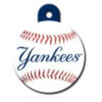 New York Yankees Large Circle ID Spot Tag
