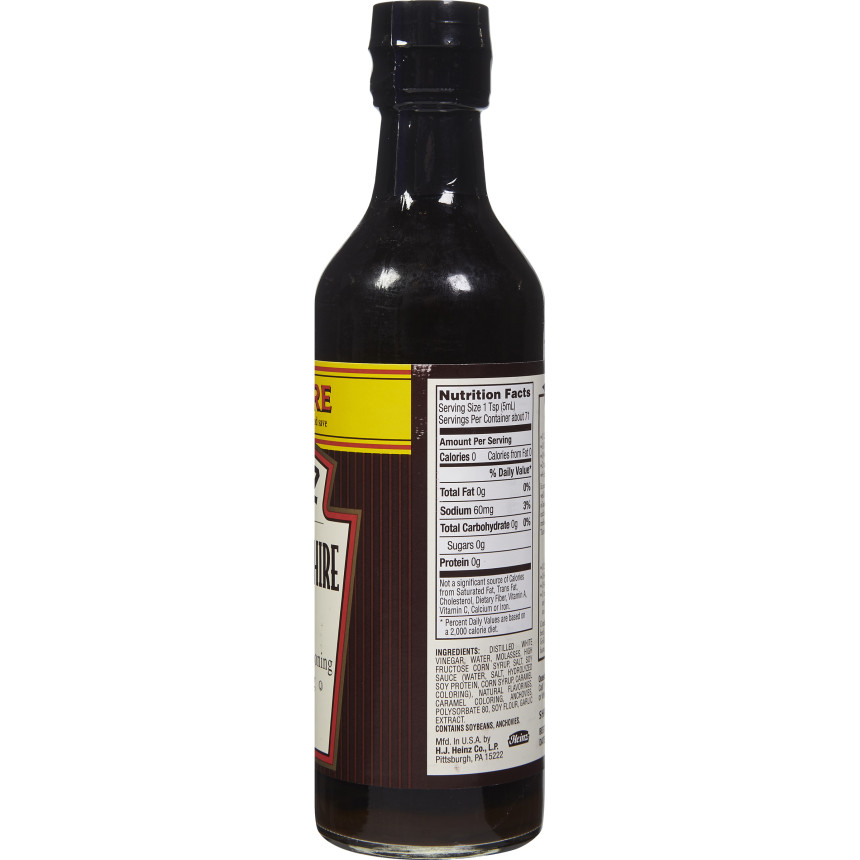 Heinz Worcestershire Sauce, 12 fl oz Bottle