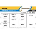 Grade 8 Hex Cap Screws Assortment (7/16-14 Thread)