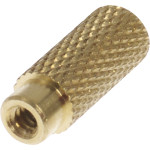Brass Knurled Turn Knob (#4-36 Thread)