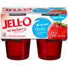 Jell-O Ready To Eat Strawberry Sugar Free Gelatin 4 - 3.125 oz Cups
