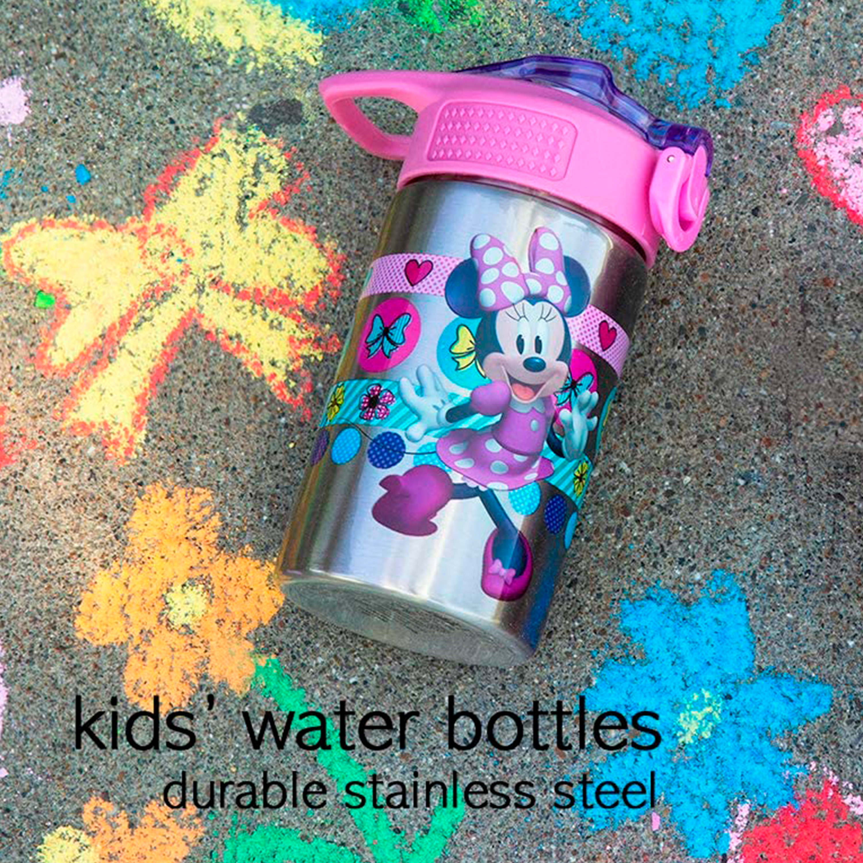 Disney 15.5 ounce Water Bottle, Minnie Mouse & Daisy Duck slideshow image 6
