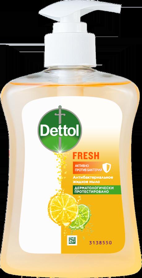 Антибактериальное жидкое мыло для рук Dettol с ароматом грейпфрута