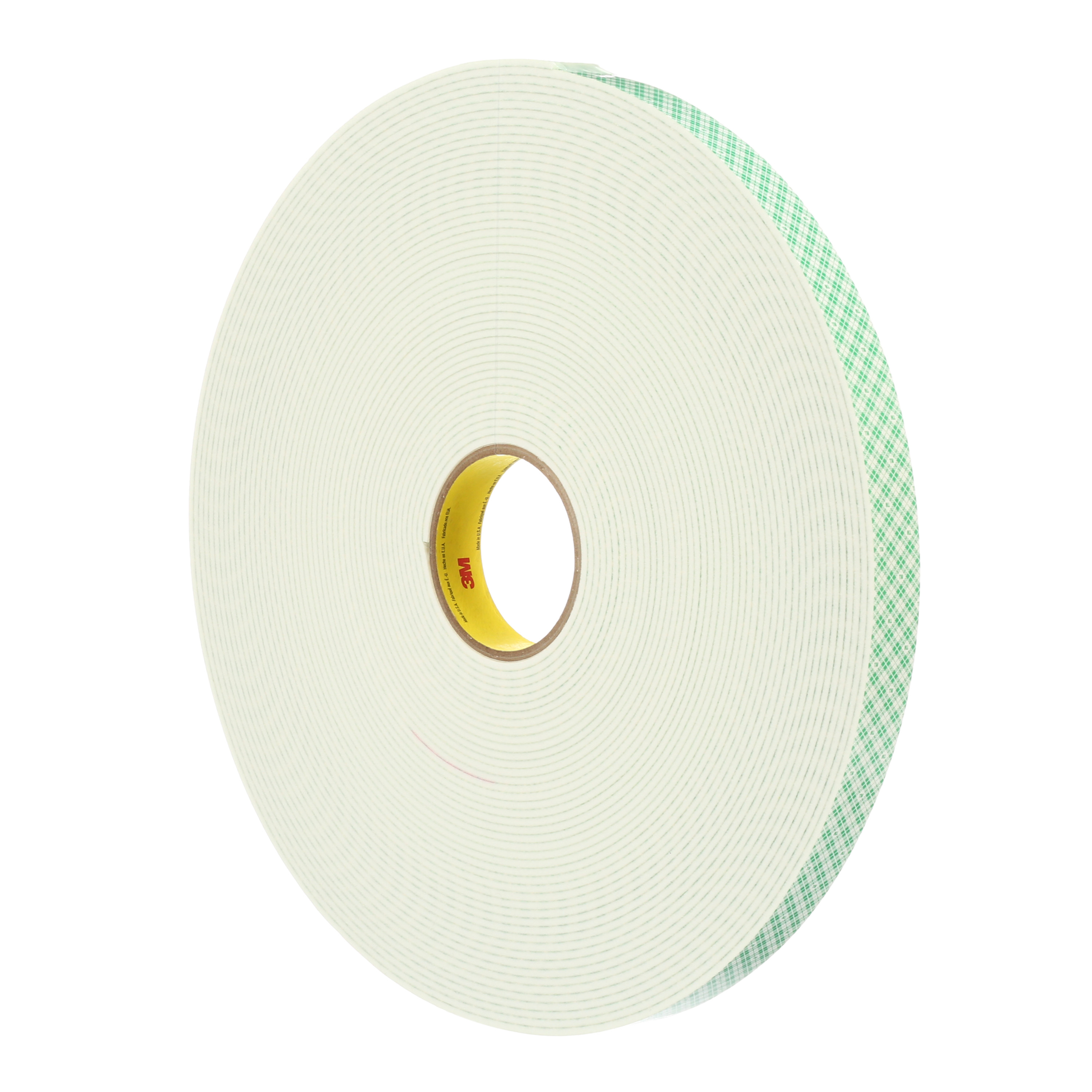 3M™ Double Coated Urethane Foam Tape 4008, Off White, 125 mil, Roll, Config