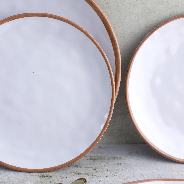 Zak Dinnerware 12-piece Dinnerware Set, Terra Cotta, 12-piece set slideshow image 3