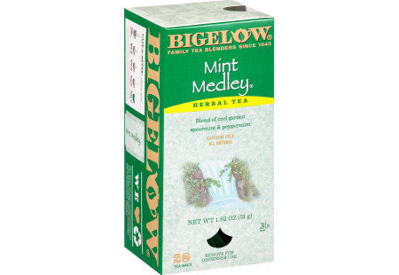 Mint Medley Herbal Tea - Case of 6 boxes- total of 168 tea bags
