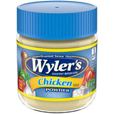 Wyler's Chicken Flavor Instant Bouillon Powder 3.75 oz Jar