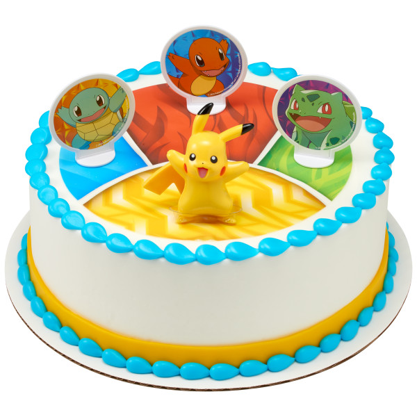 Pokémon™ Lightup Pikachu PhotoCake® DecoSet® Background
