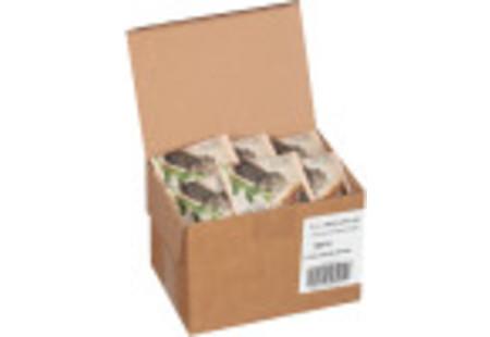 steep cafe by Bigelow organic full leaf chun mee green tea pyramid bag in overwrap