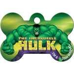 Hulk Chrome Large Bone Quick-Tag