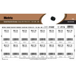 Class 45H Metric Socket-Head Set Screws Assortment (M4-0.7 thru M8-1.25)