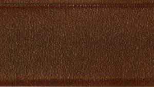 Circle T Latigo Leather Round Dog Collar with Solid Brass Hardware