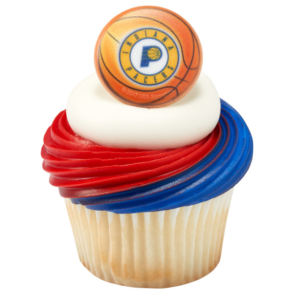 NBA Indiana Pacers Cupcake Rings