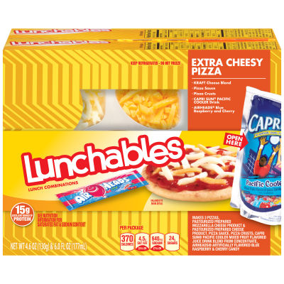 Oscar Mayer Lunchables Cheese Pizza with Capri Sun 21.2 oz Box