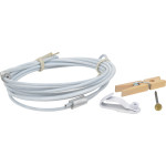 Hillman Photo Cable with Clips