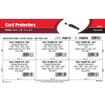 """Black Nylon Cord Protectors Assortment (.500"""" Thru 0.625"""")"""