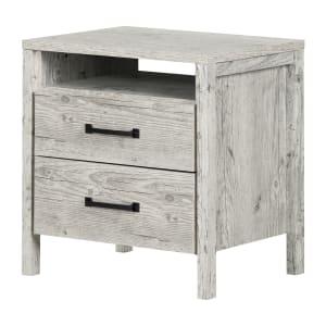 Gravity - Table de chevet 2 tiroirs