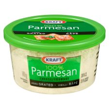 Kraft 100% Parmesan Aged Grated Cheese, 141g