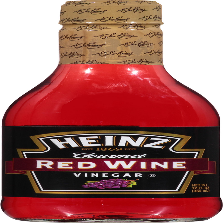 Heinz Gourmet Red Wine Vinegar, 6 - 12 fl oz Bottles image