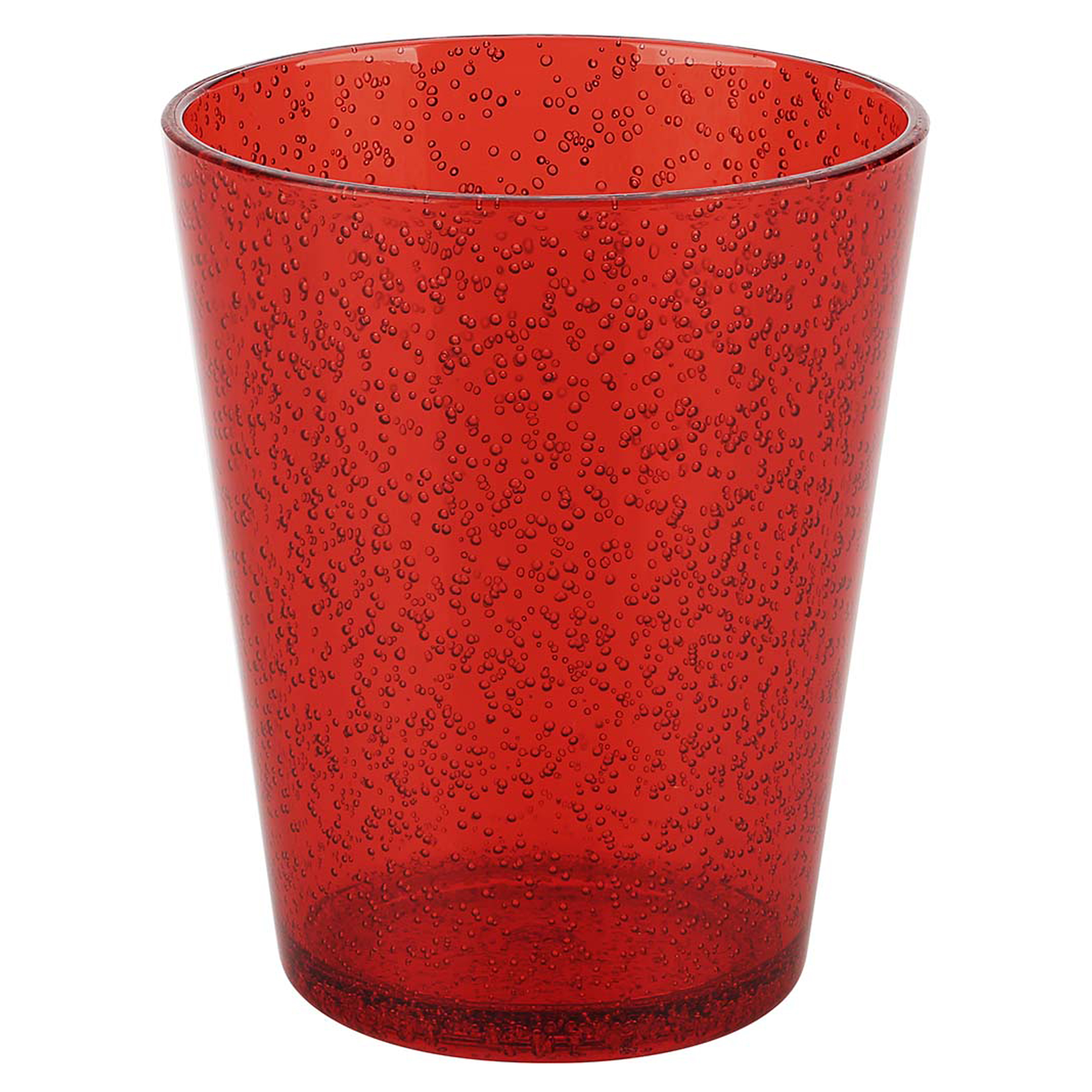 Spritz 16 ounce Old-Fashion Glass, Red slideshow image 13