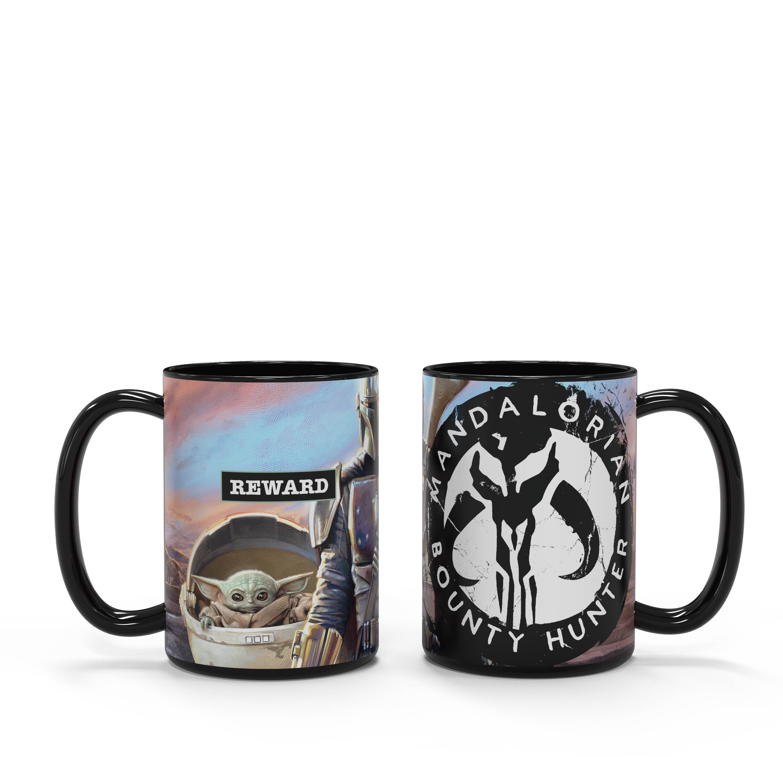 Star Wars: The Mandalorian 15 ounce Ceramic Coffee Mugs, The Mandalorian slideshow image 7