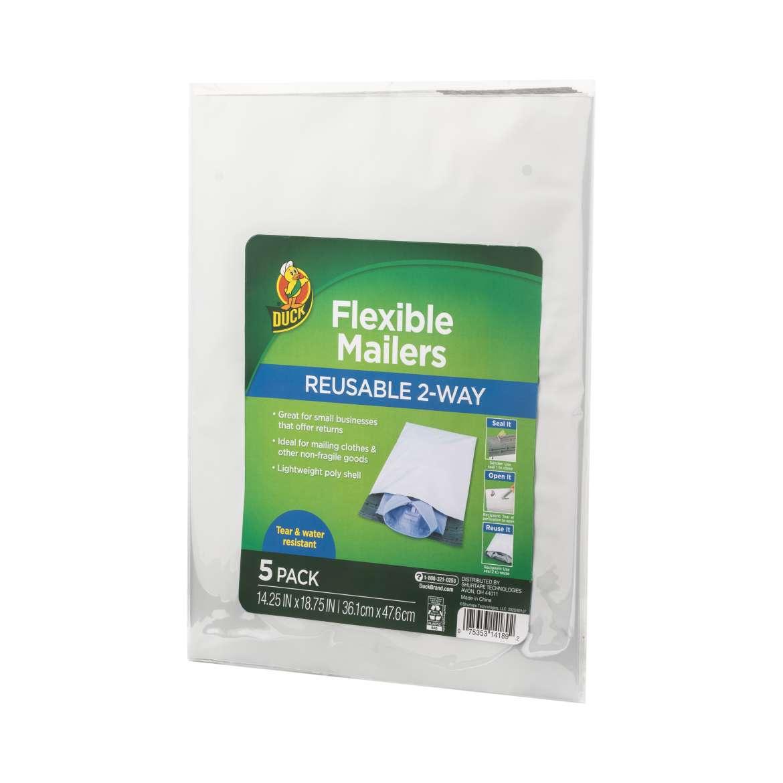 Duck® Brand Reusable 2-Way Flexible Mailers Image