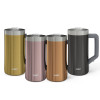 Creston 25 ounce Vacuum Insulated Stainless Steel Tumbler, Gold slideshow image 13