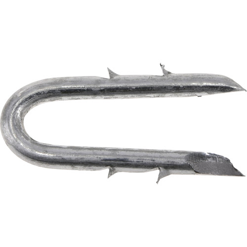 Galvanized Barbed Fence Staple #8 x 1-1/2