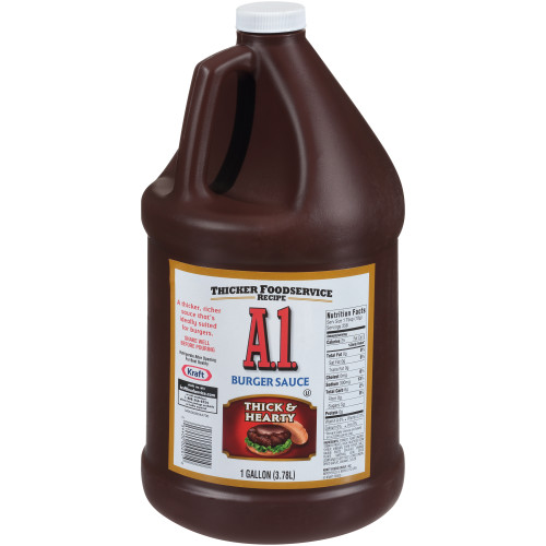 A.1. Thick & Hearty Steak Sauce, 1 gal. Jugs (Pack of 2)