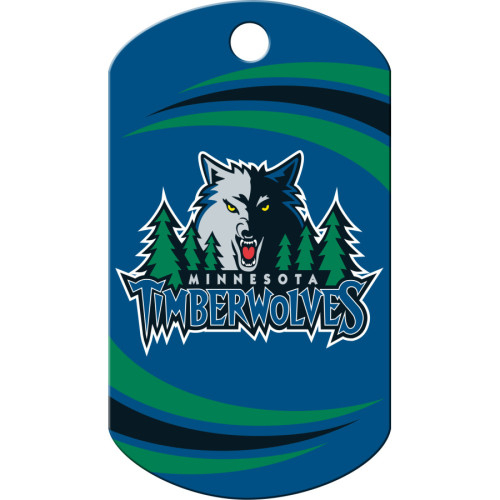Minnesota Timberwolves Chrome Large Military ID Quick-Tag 25 Pack