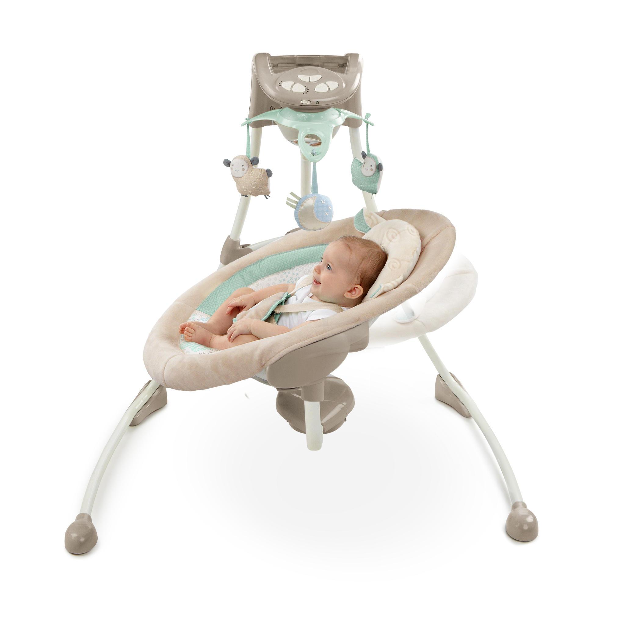 InLighten Cradling Swing™ - Lullaby Lamb™